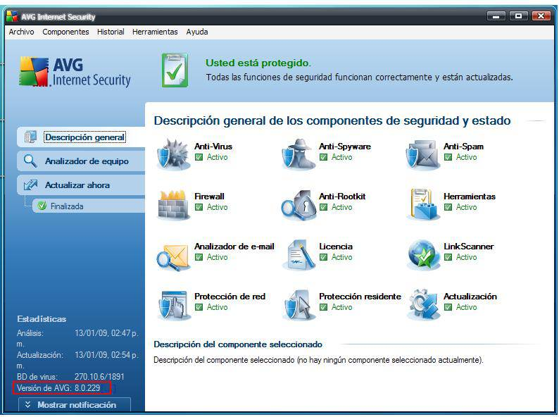AVG Anti-Virus Professional Edition 7 5. 485 Build 1117 plus firewall 20