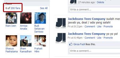facebook page jackdoans