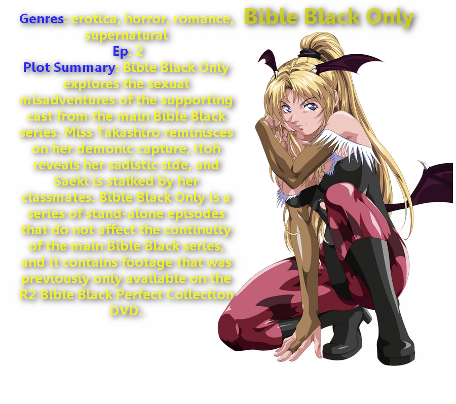 Think, that hentai bible black torrent and