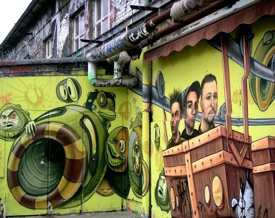 Graffiti - sztuka ulicy 12