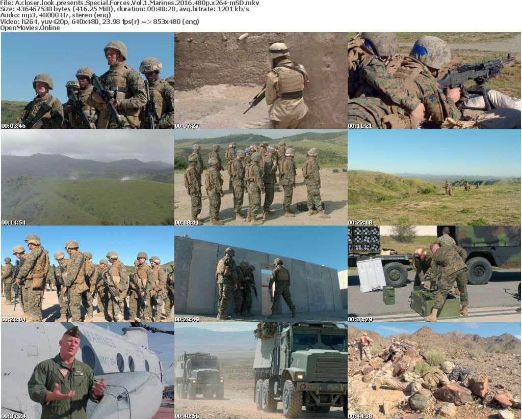 A closer look presents Special Forces Vol 1 Marines 2016 480p x264-mSD