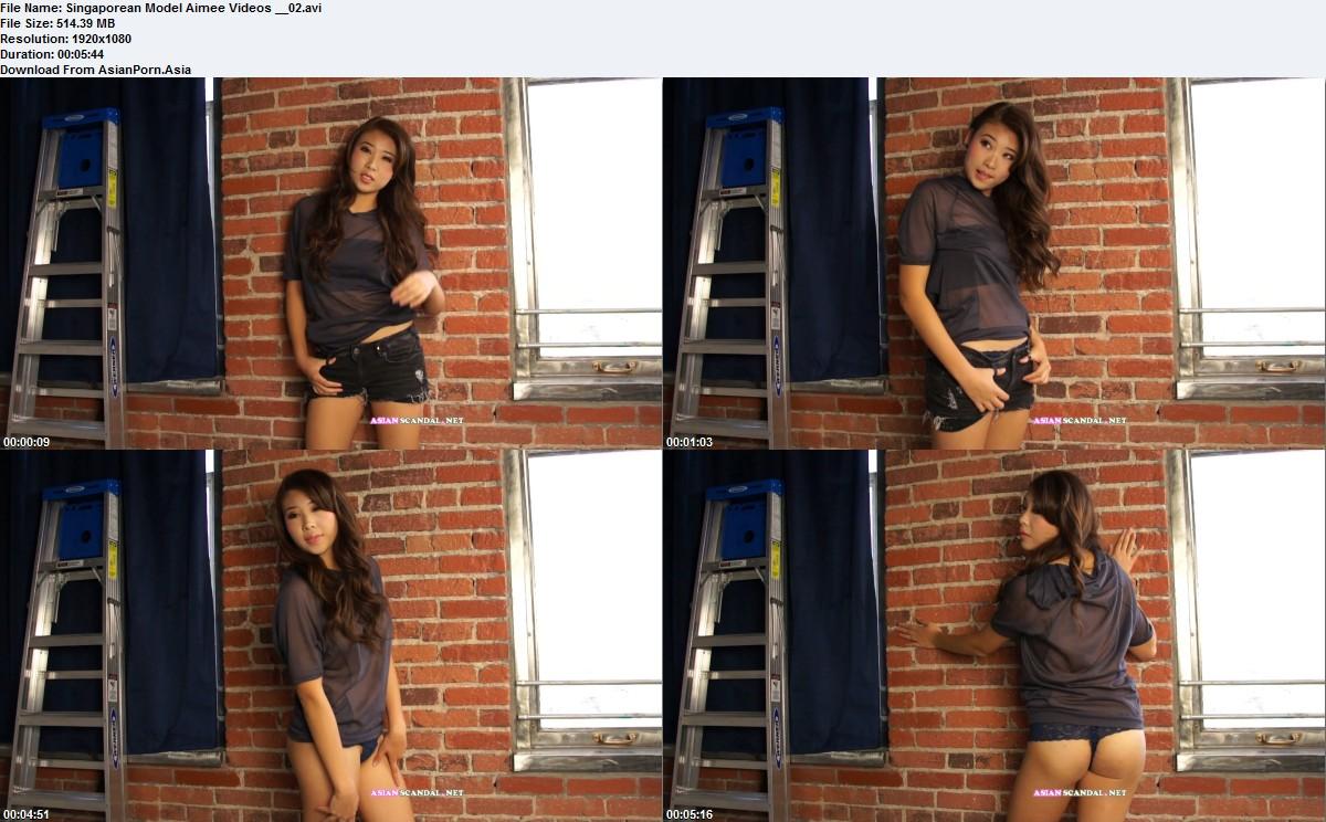 Singaporean Model Aimee