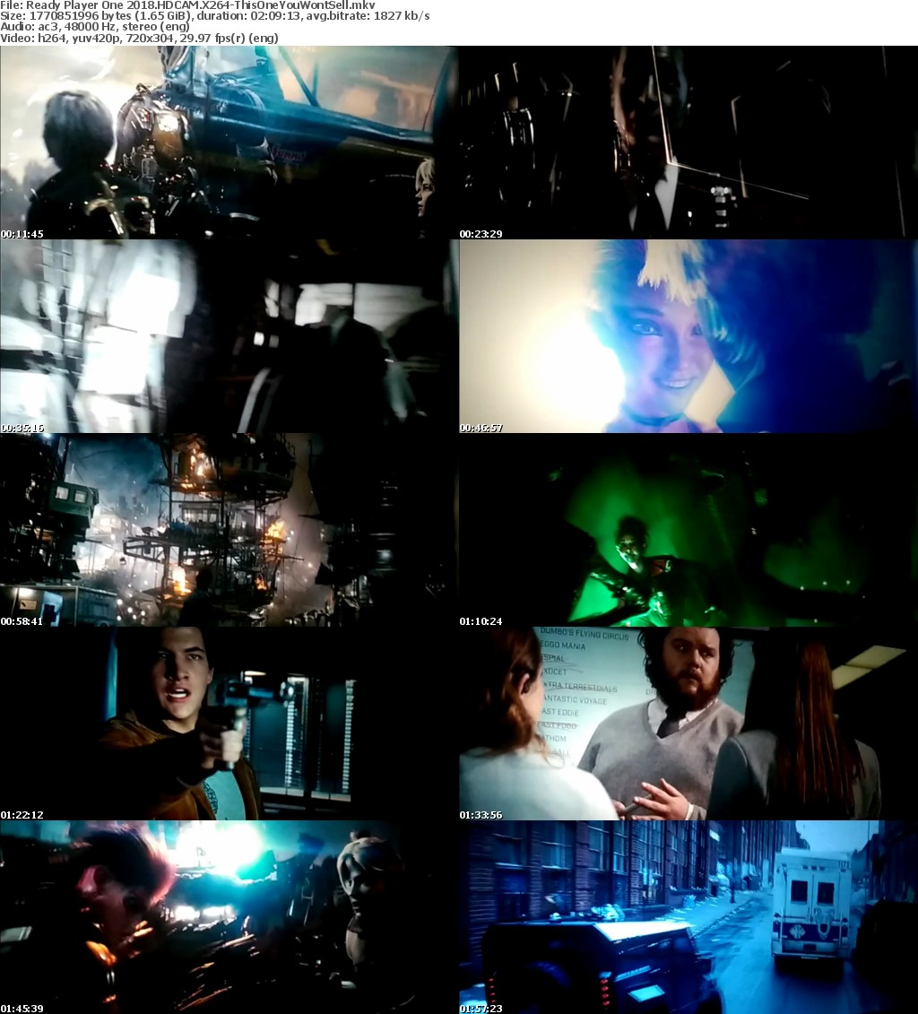 Ready Player One 2018 HDCAM X264-ThisOneYouWontSell