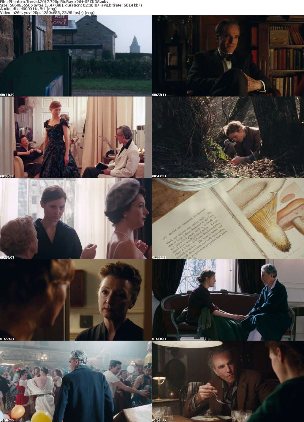 Phantom Thread 2017 720p BluRay x264-GECKOS
