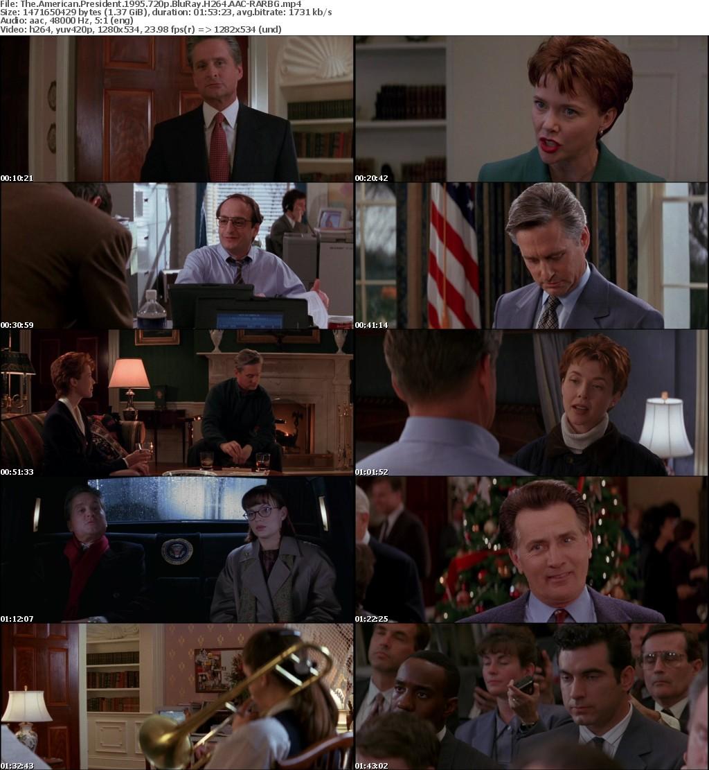 The American President 1995 720p BluRay H264 AAC-RARBG