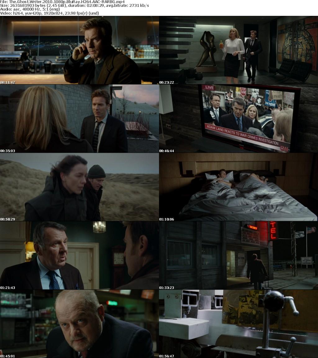 The Ghost Writer 2010 1080p BluRay H264 AAC-RARBG