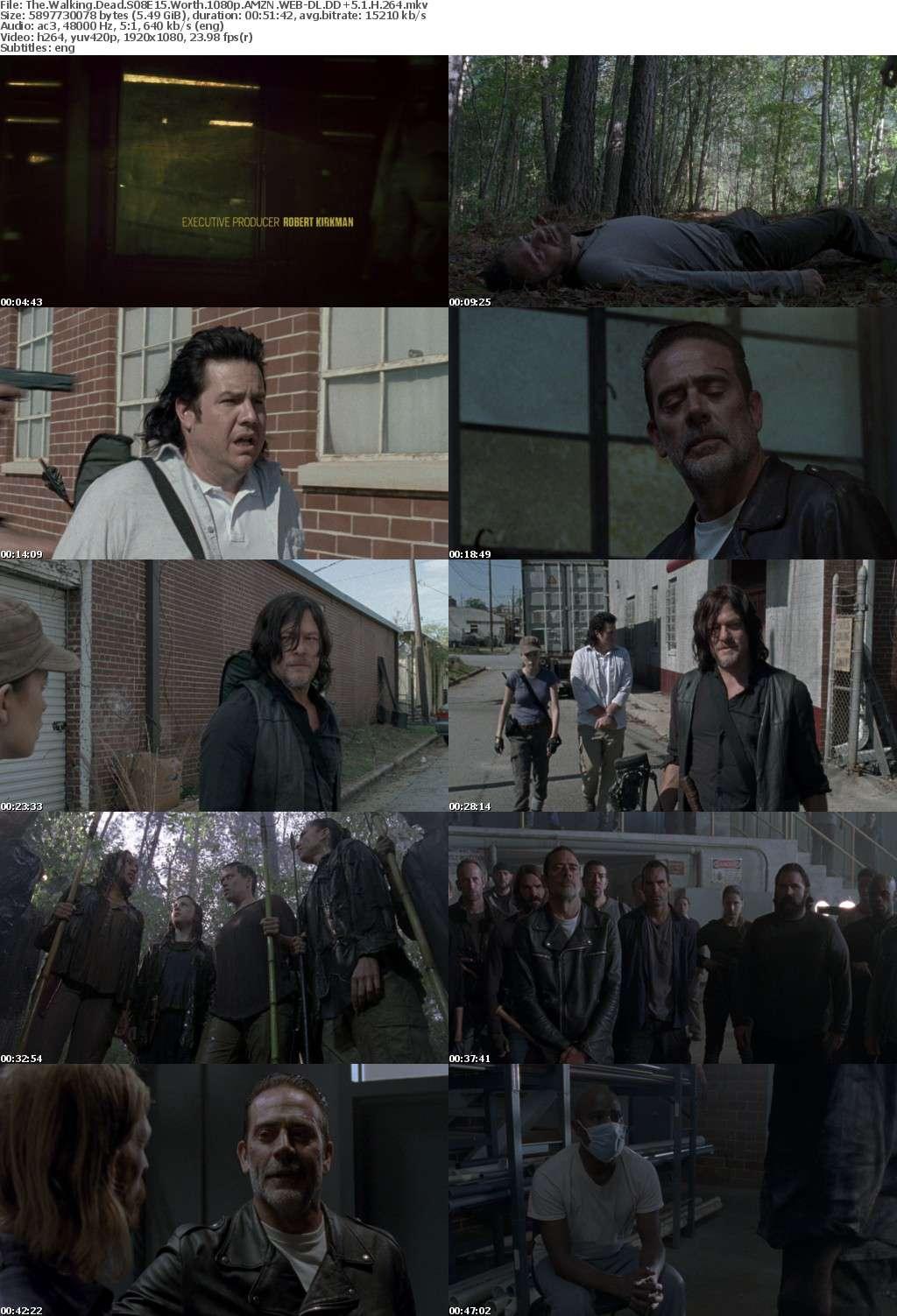The Walking Dead S08E15 Worth 1080p AMZN WEB-DL DD+5 1 H 264