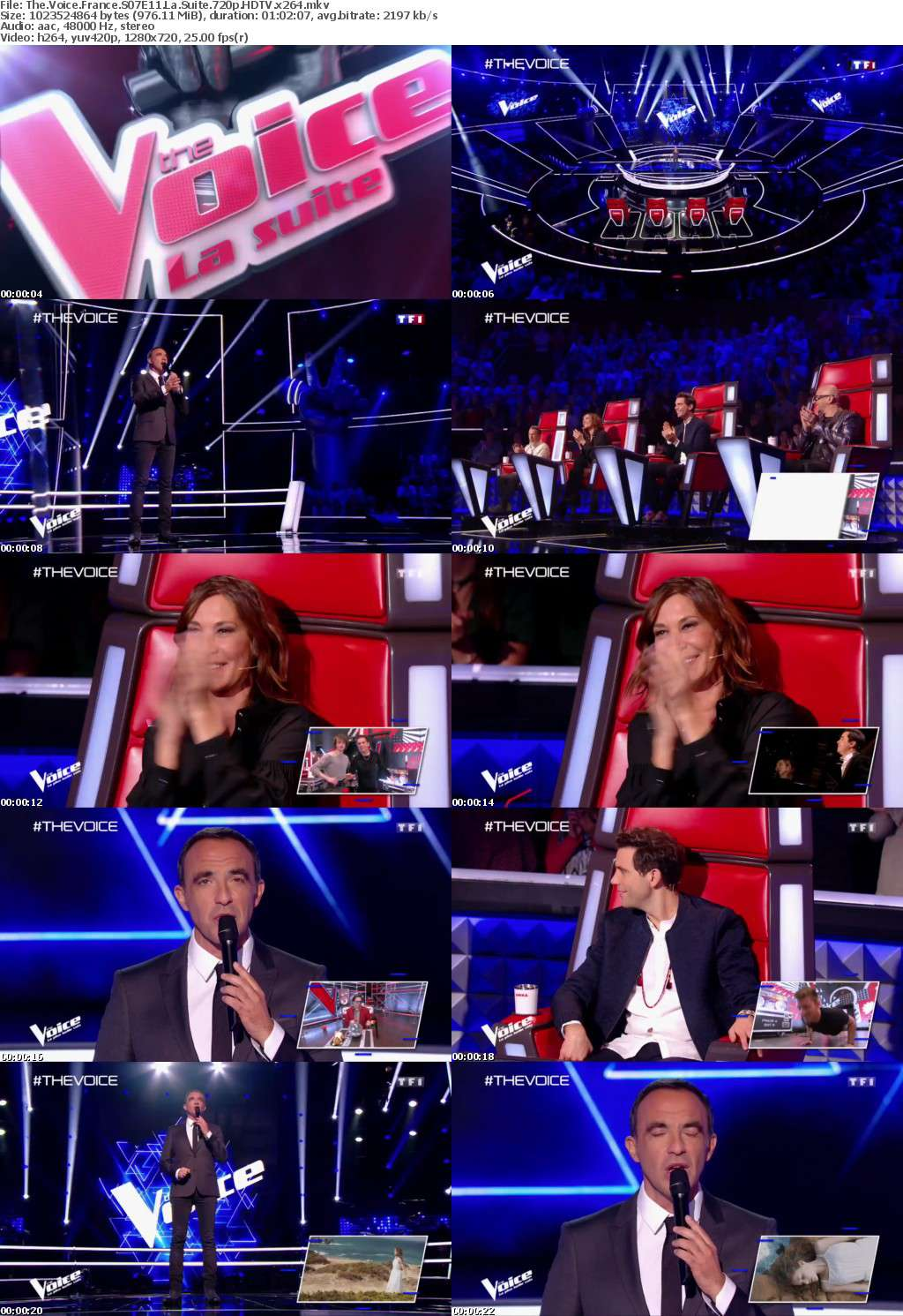 The Voice France S07E11 La Suite 720p HDTV x264