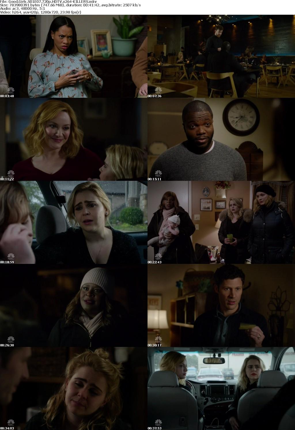 Good Girls S01E07 720p HDTV x264-KILLERS