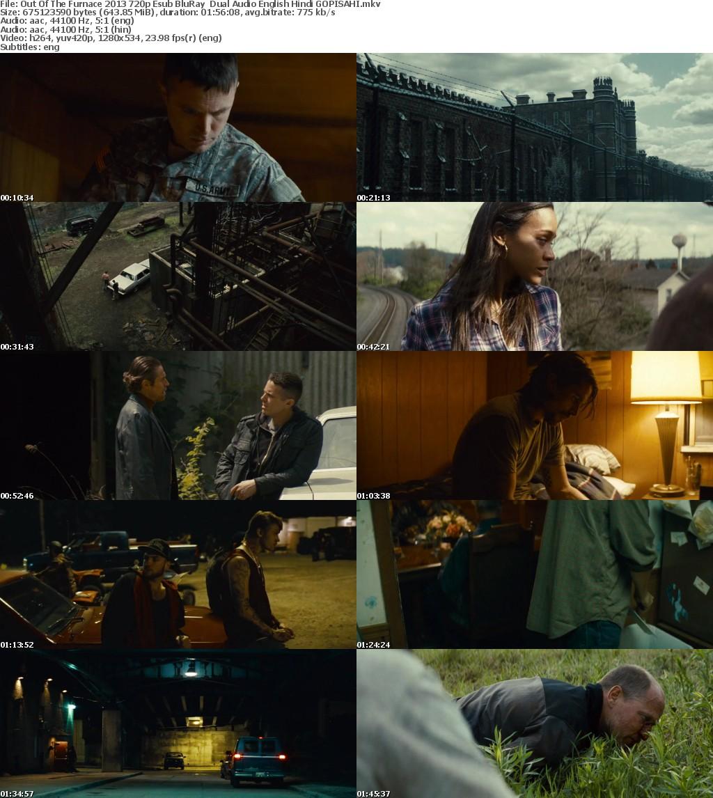 Out Of The Furnace (2013) 720p BluRay Dual Audio [English+Hindi] Esub-GOPISAHI