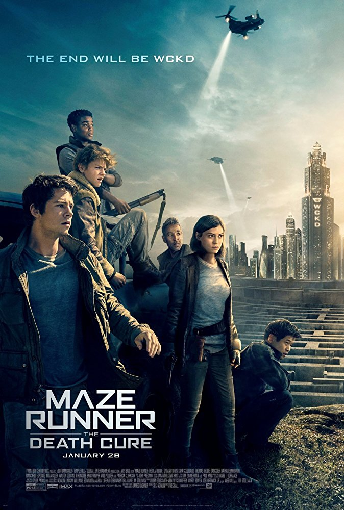 Maze Runner The Death Cure 2018 720p BluRay x264-SPARKS