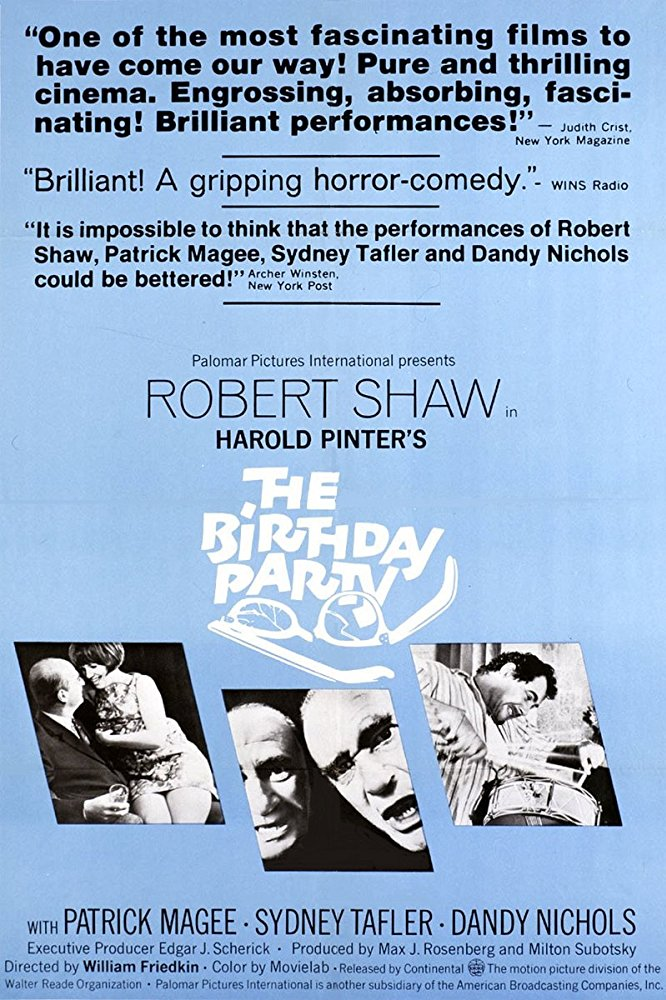 The Birthday Party 1968 BRRip XviD MP3-XVID