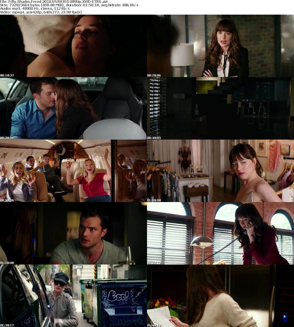 Fifty Shades Freed (2018) UNRATED BRRip XViD-ETRG
