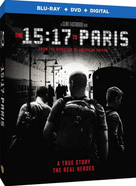 The 15 17 to Paris (2018) HDRip AC3-CMRG
