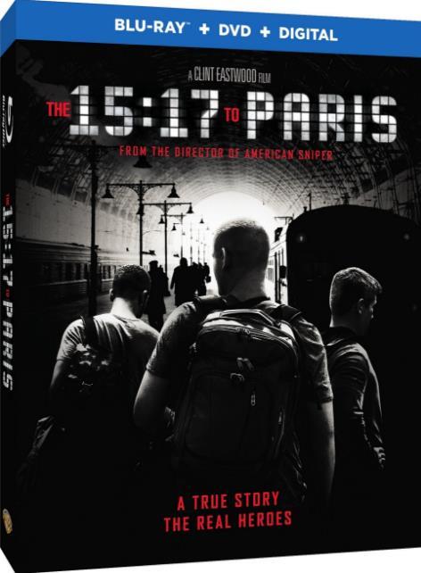 The 15 17 to Paris (2018) HDRip AC3-CMRG