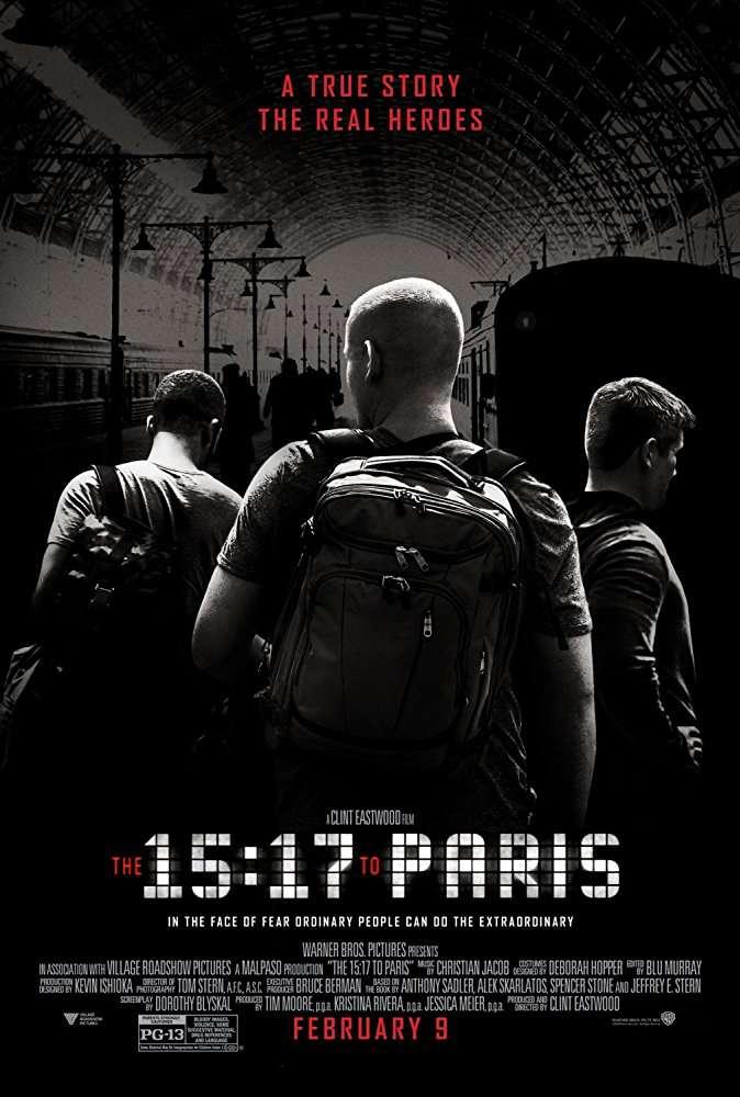 The 15 17 to Paris 2018 1080p BluRay H264 AAC-RARBG