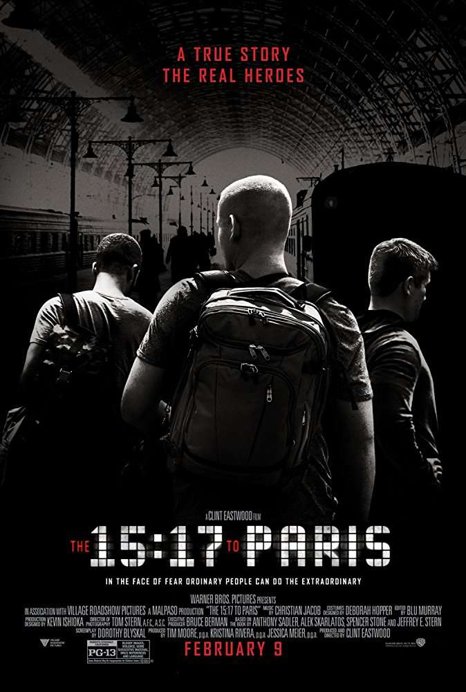 The 15 17 To Paris 2018 720p BluRay x264 AAC LLG