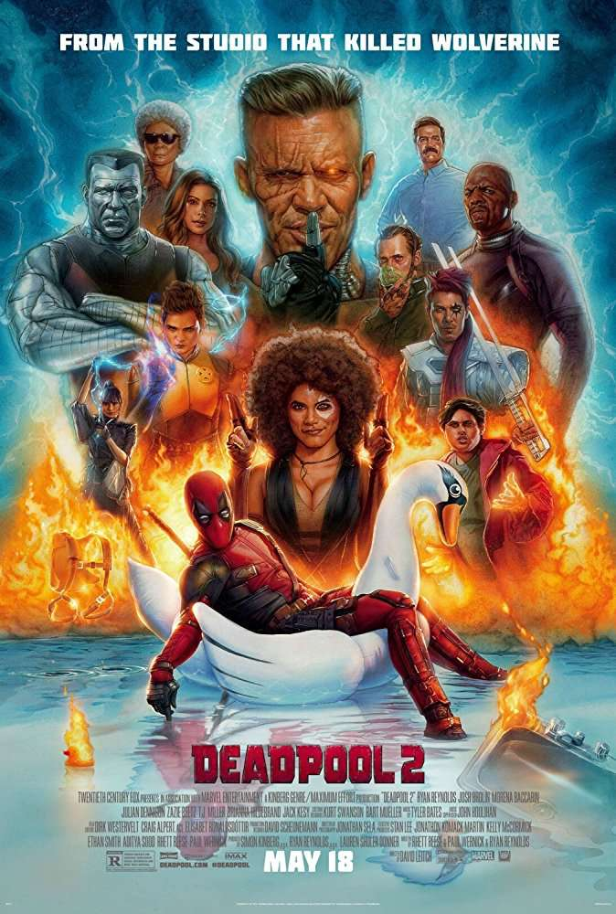 Deadpool 2 2018 English CAMRip x264 700MB [Team TR]