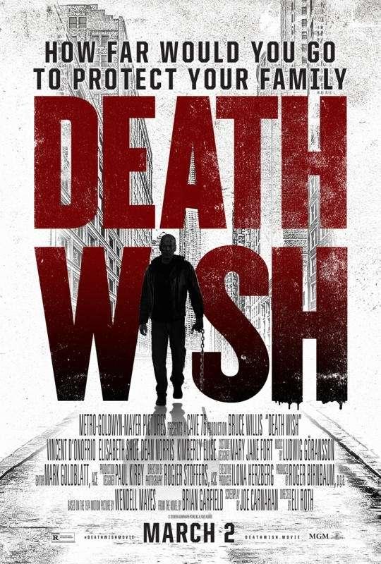 Death Wish 2018 HDRip XviD AC3-EVO[TGx]
