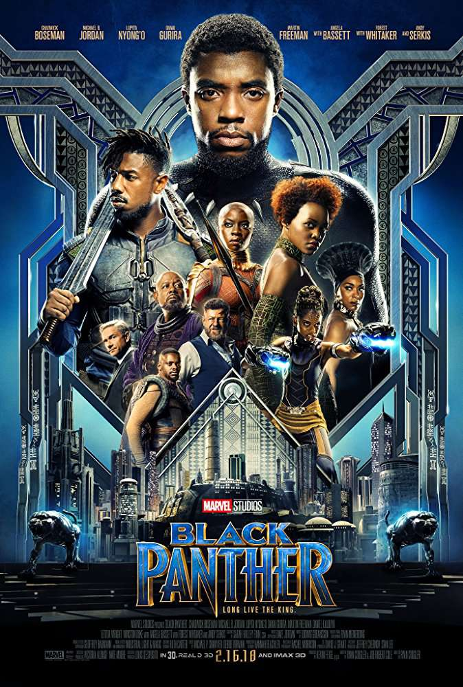 Black Panther 2018 720p BRRip x264 DD 5 1-M2Tv