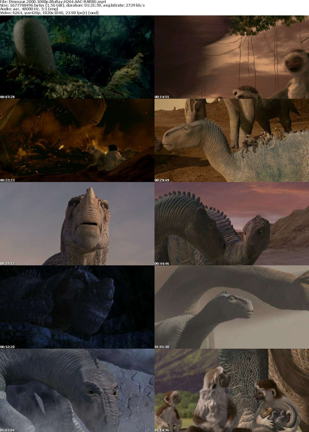 Dinosaur 2000 1080p BluRay H264 AAC-RARBG