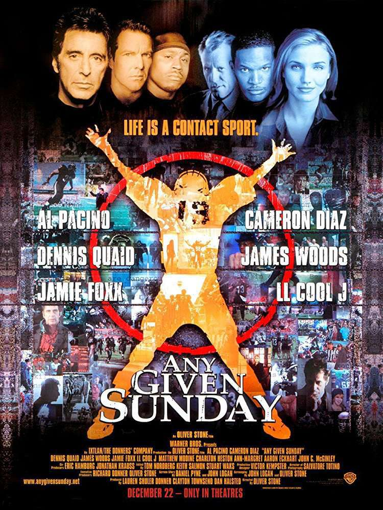 Any Given Sunday 1999 DC BRRip XviD MP3-XVID