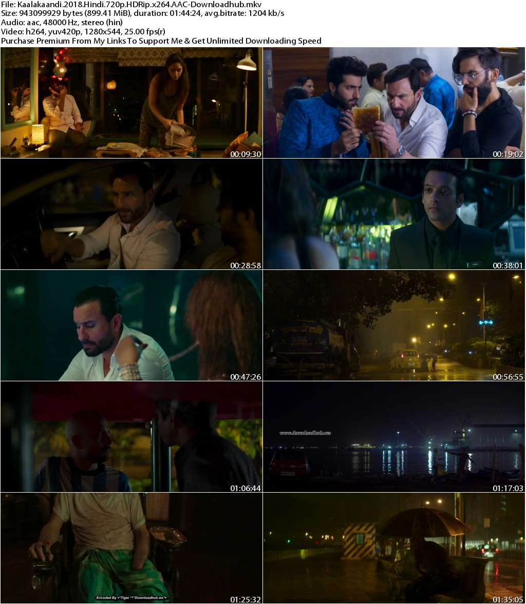 Kaalakaandi (2018) Hindi 720p HDRip x264 AAC-Downloadhub