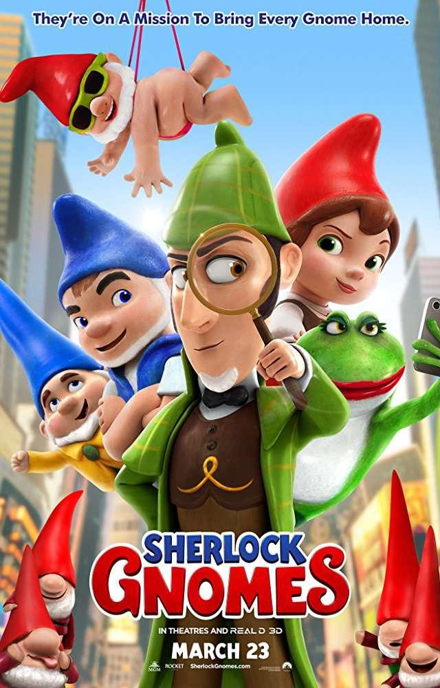 Sherlock Gnomes 2018 720p BRRip x264 AC3-DiVERSiTY