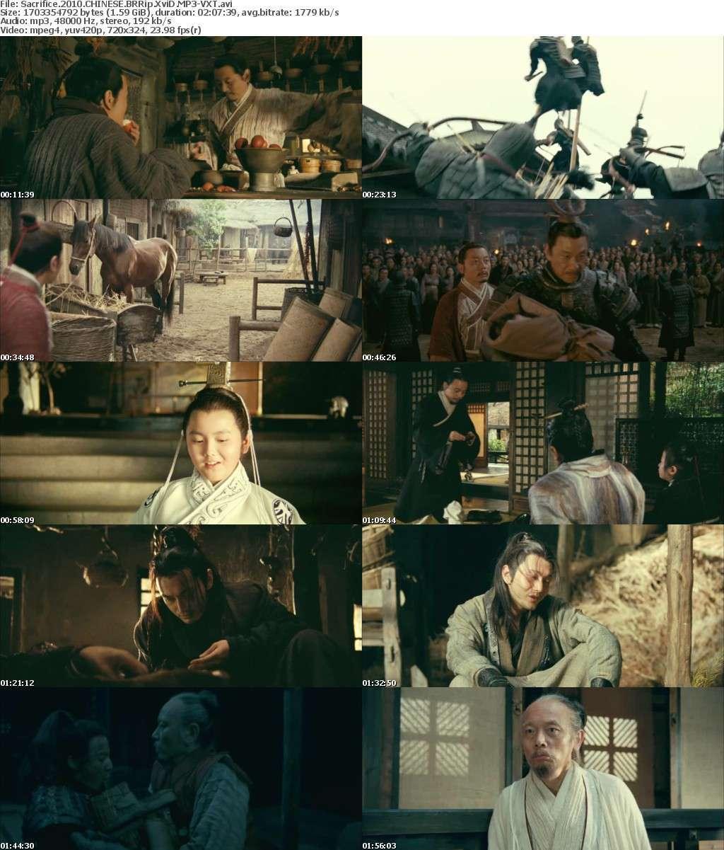 Sacrifice 2010 CHINESE BRRip XviD MP3-VXT