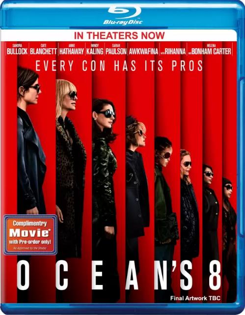 Oceans 8 (2018) 720p HD-TS X264 MP3 LLG