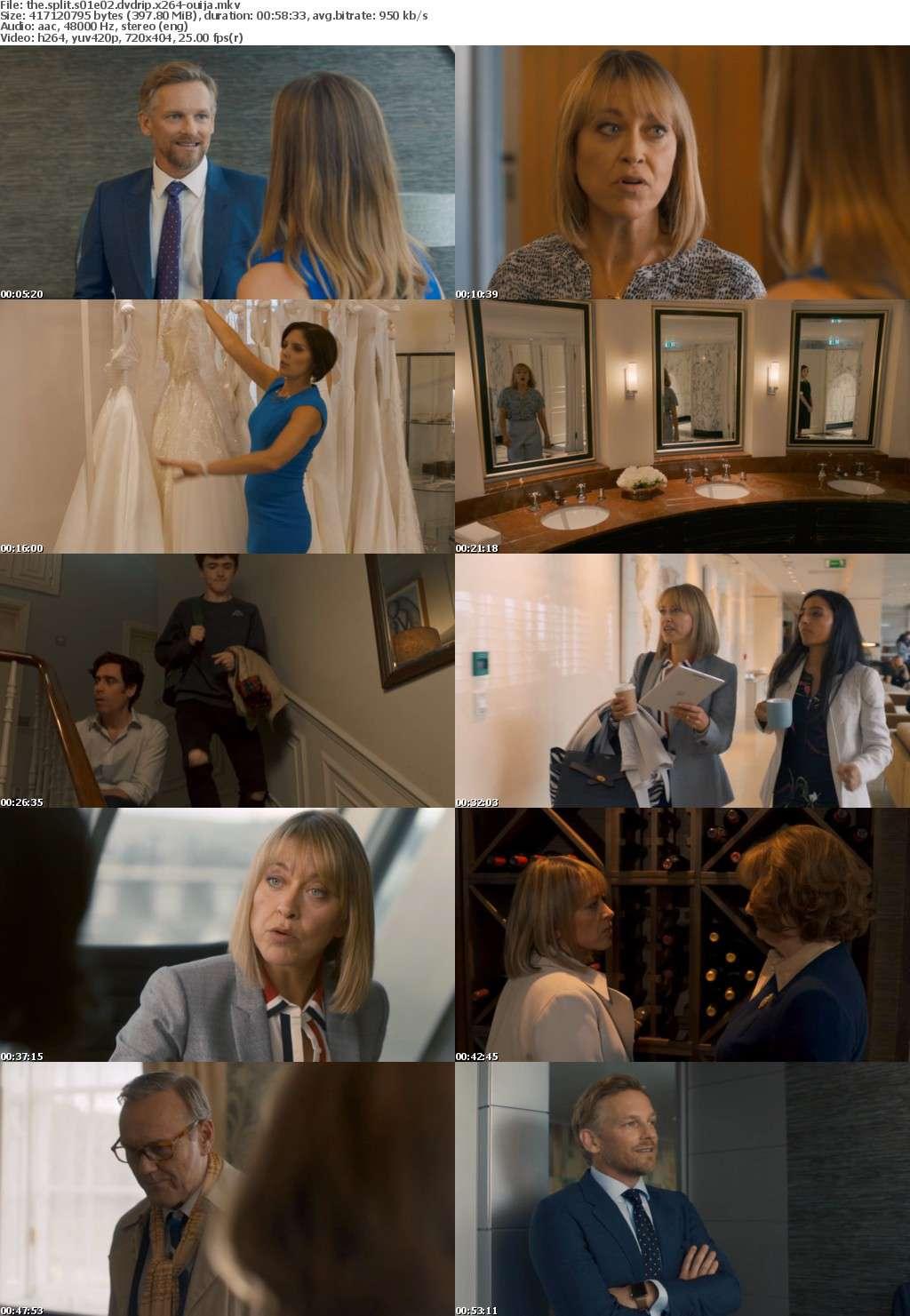 The Split S01 DVDRip x264-OUIJA
