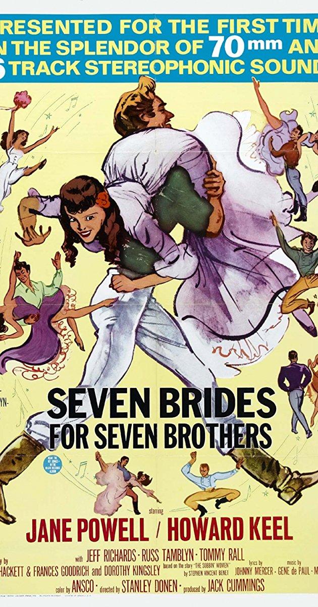 Seven Brides for Seven Brothers 1954 1080p BluRay X264-AMIABLE