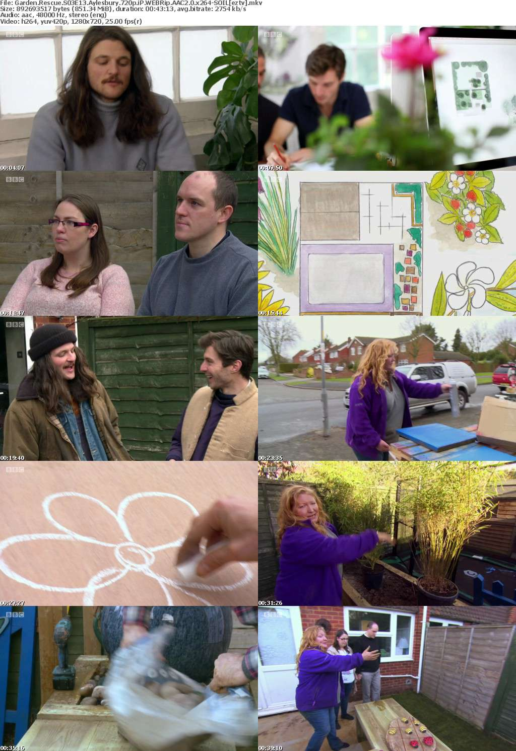 Garden Rescue S03E13 Aylesbury 720p iP WEBRip AAC2 0 x264-SOIL