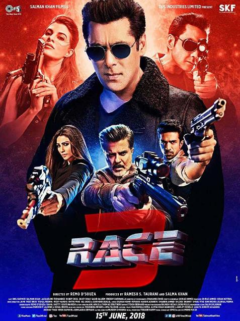 Race 3 (2018) Hindi Proper True HQ HDRip x264 MP3 700MB ESub-MRulz