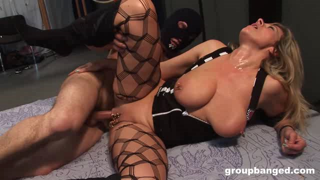 GroupBanged 18 06 18 Her Gang Bang Fantasy Comes True XXX