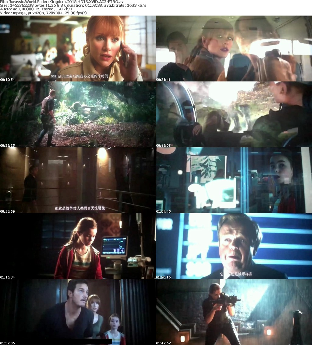 Jurassic World Fallen Kingdom (2018) HDTS XViD AC3-ETRG