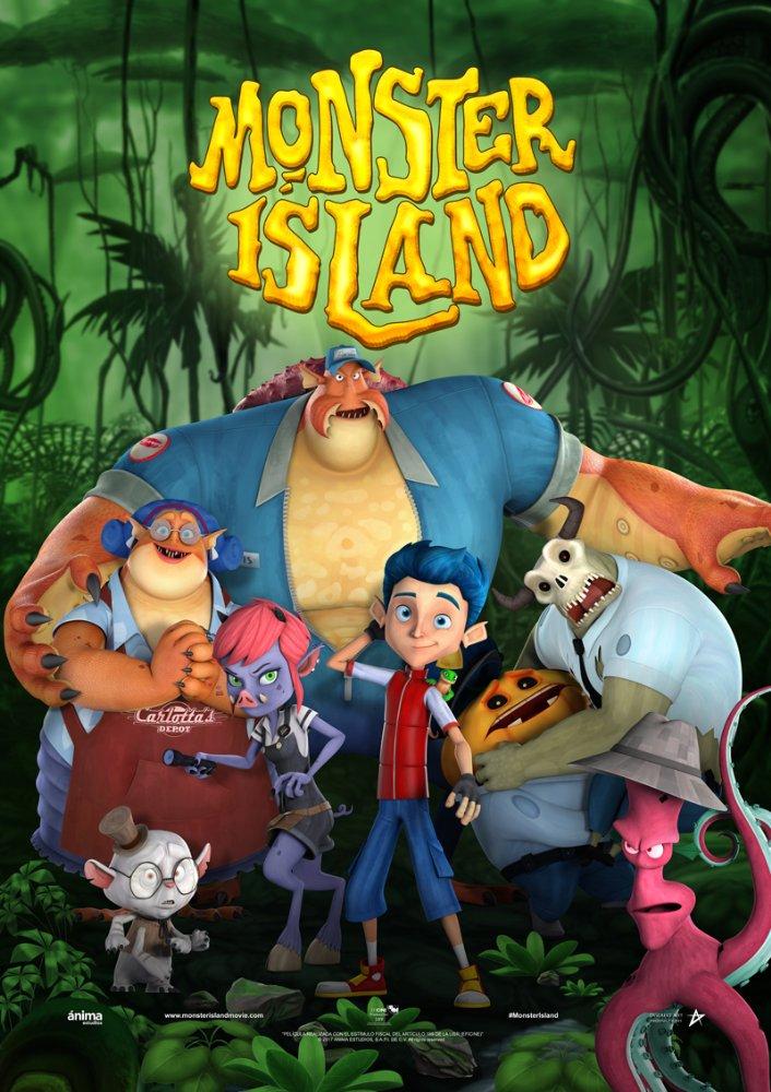 Monster Island 2017 720p BRRip 600 MB - iExTV