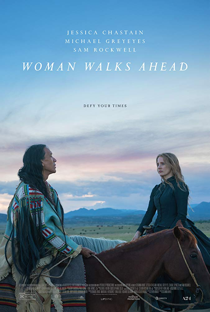 Woman Walks Ahead (2018) 720p WEB-HD 750 MB - iExTV