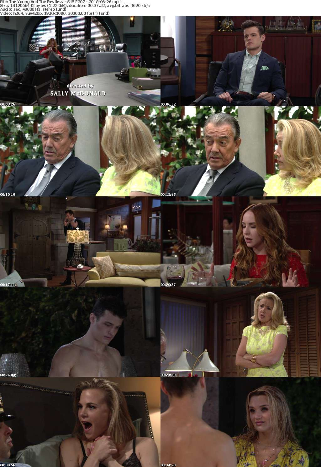 The Young And The Restless - S45 E207 - 2018-06-26