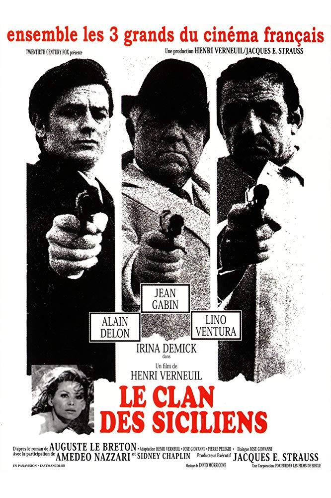 The Sicilian Clan (1969)-Alain Delon-1080p-H264-AC 3 (DTS 5 1)-Eng Sub-Remastered nickarad