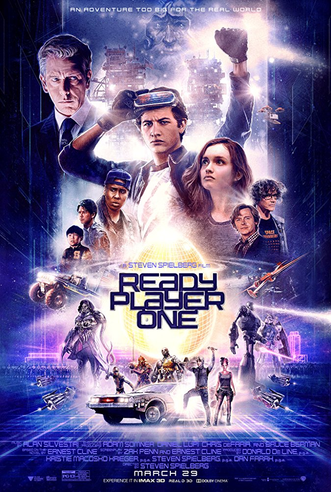 Ready Player One 2018 720p BRRip XviD AC3-XVID