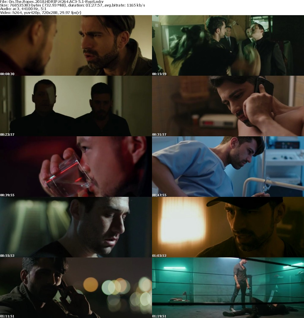 On The Ropes 2018 HDRIP H264 AC3-5 1-RypS