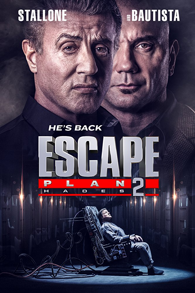 Escape Plan 2 Hades 2018 720p BluRay x264 Dual Audio Hindi (Cleaned) - English 2 0 ESub MW