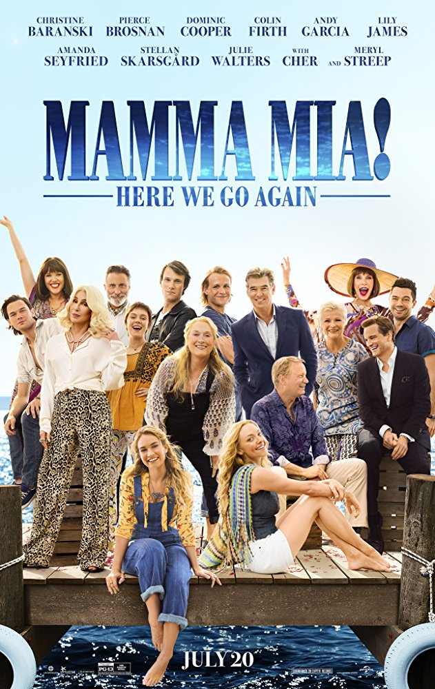 Mamma Mia! 2 2018 CAM X264 MP3 English