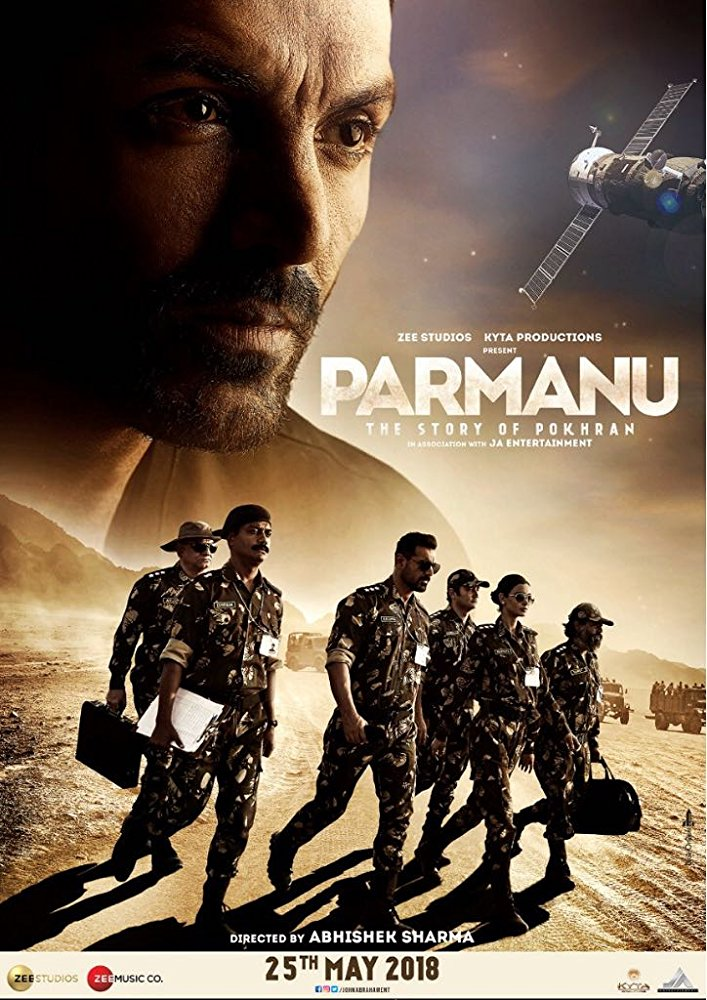 Parmanu - The Story of Pokhran (2018) Hindi HDRip x264 AAC 700 MB mkv