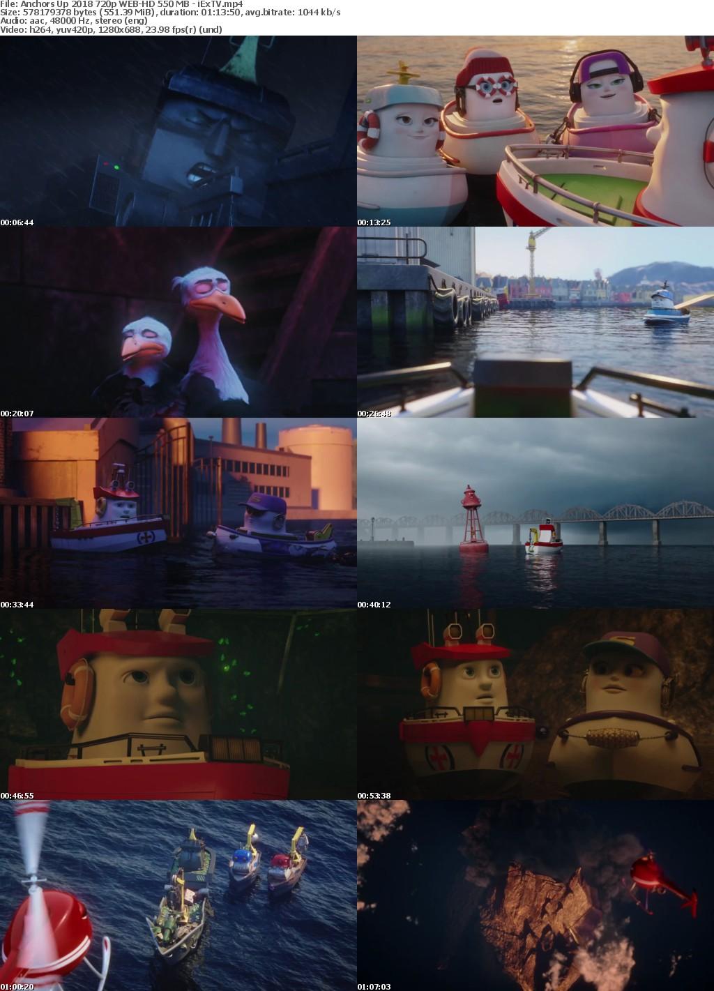 Anchors Up (2018) 720p WEB-HD 550 MB - iExTV