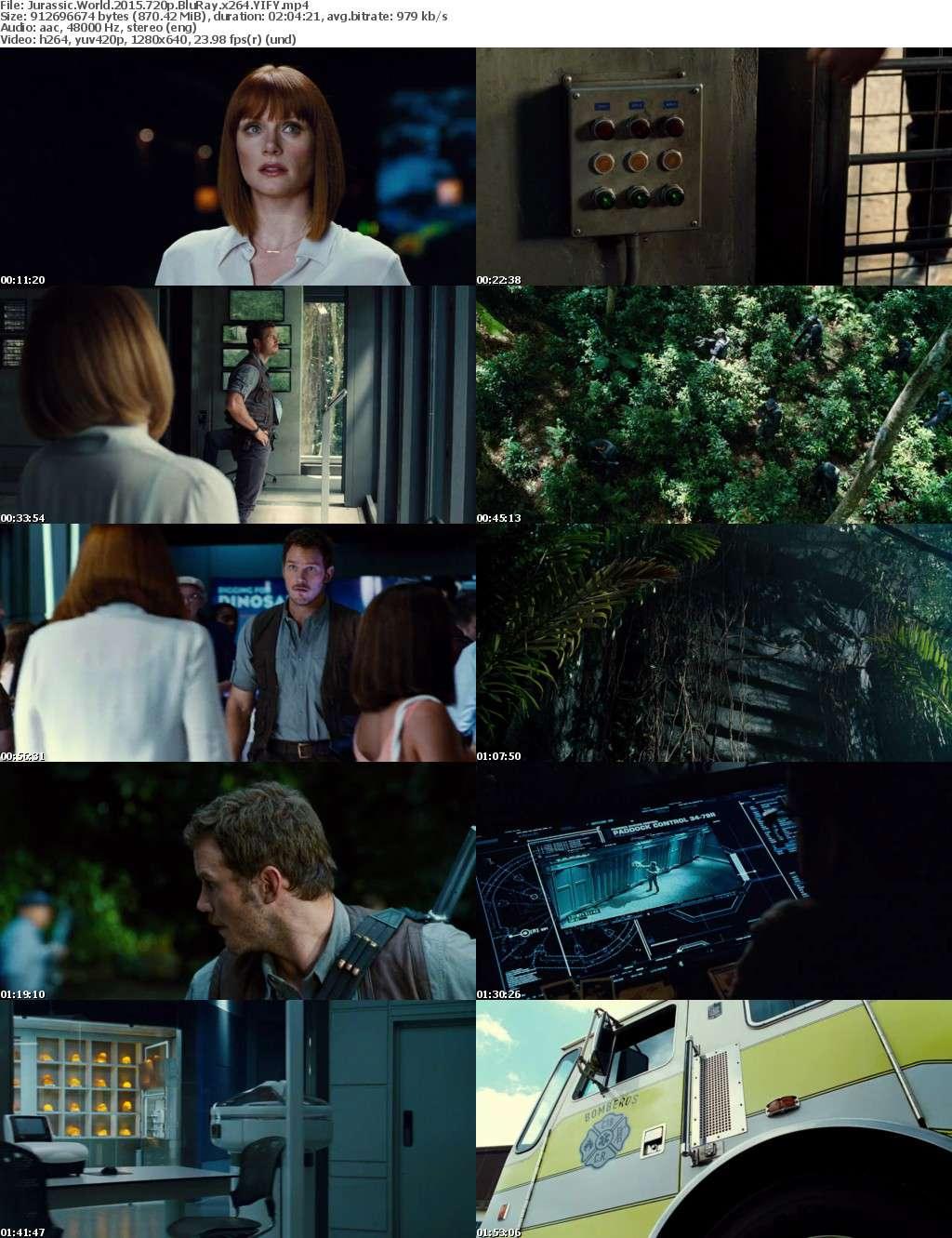 Jurassic World (2015) [BluRay] [720p] YIFY
