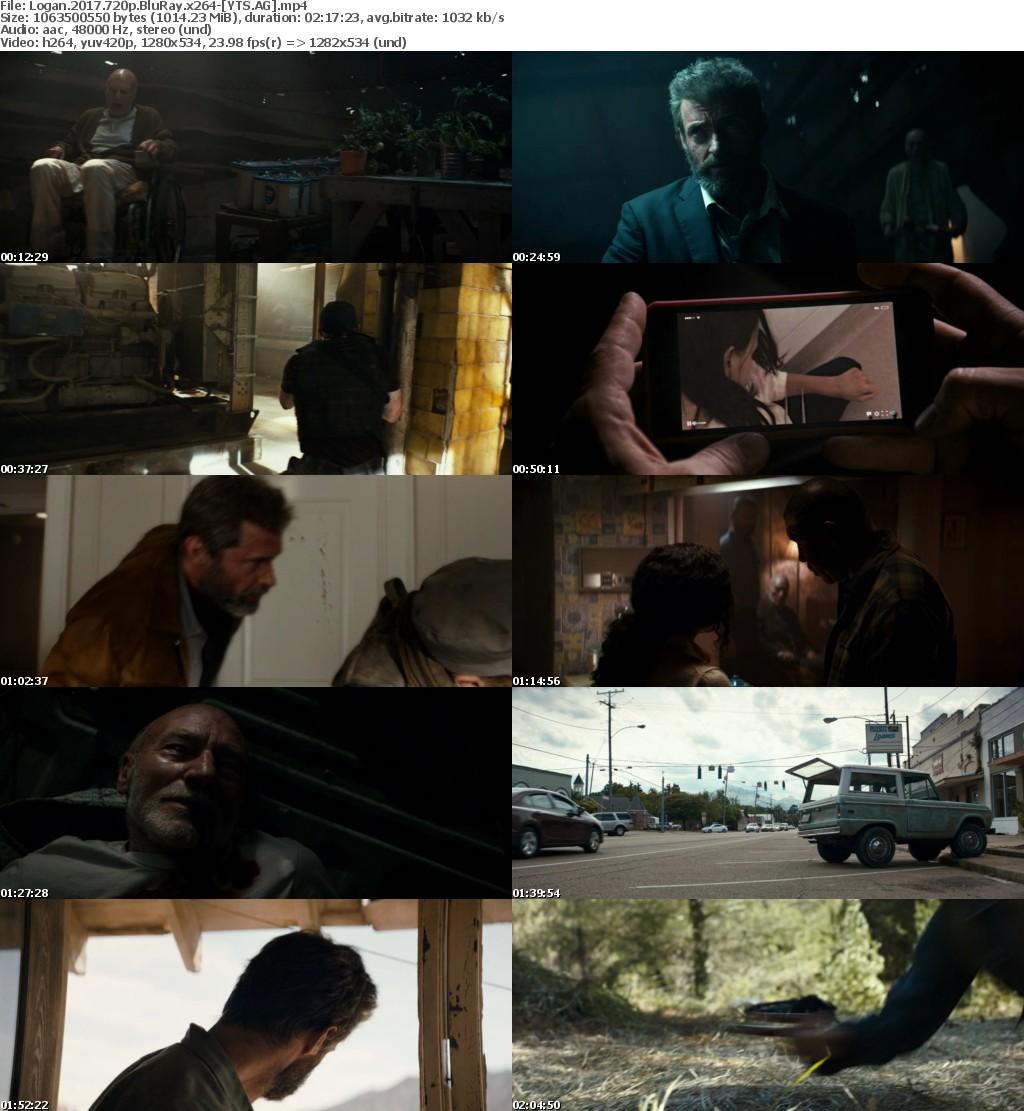 Logan (2017) [BluRay] [720p] YIFY