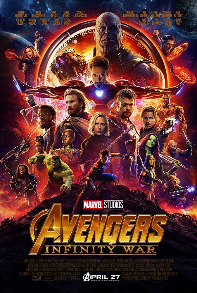 Avengers Infinity War (2018) 720p BRRip XviD AC3-XVID