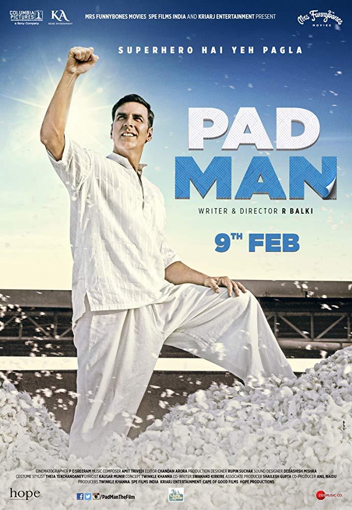 Padman 2018 Hindi 1080p BluRay DD 5 1 x264 ESub MW